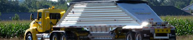 Chippewa Sand Transport Semi Truck