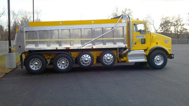 Chippewa Sand Transport Dump Truck